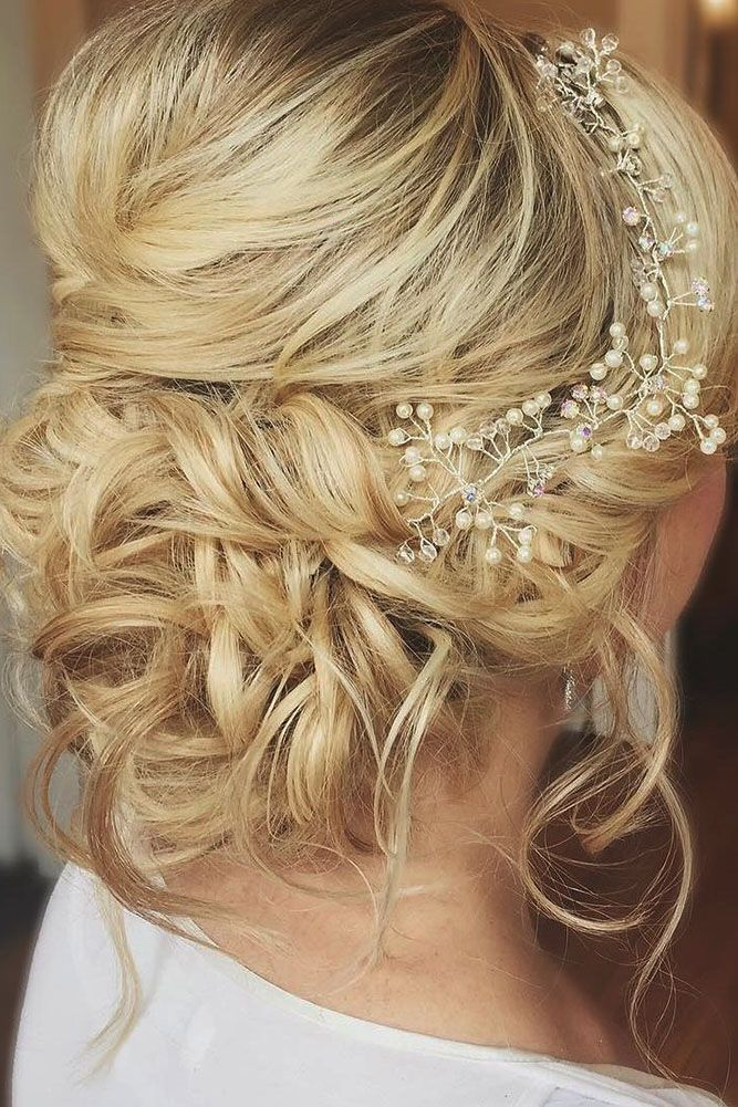 30 Pinterest Wedding Hairstyles For Your Unforgettable Wedding ❤ pinterest wed...