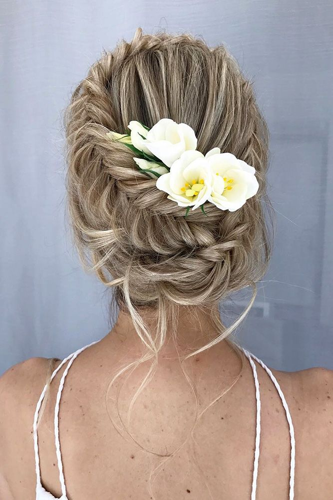 30 Wedding Hairstyles Ideas For Brides With Thin Hair ❤ wedding hairstyles for...