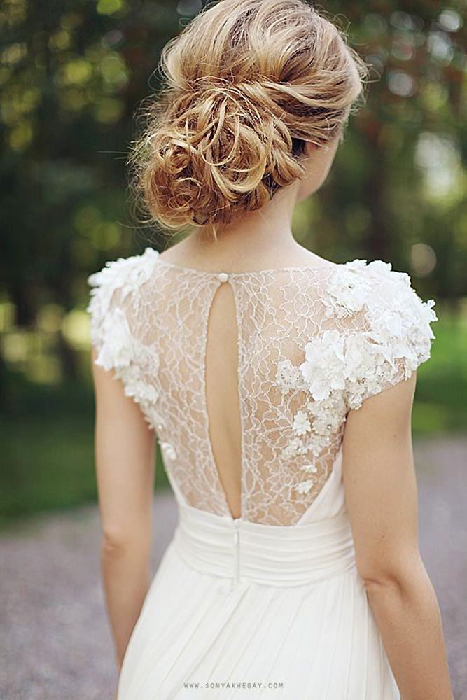30 Perfect Wedding Hairstyles For Medium Hair ❤ wedding-hairstyles-for-medium-...