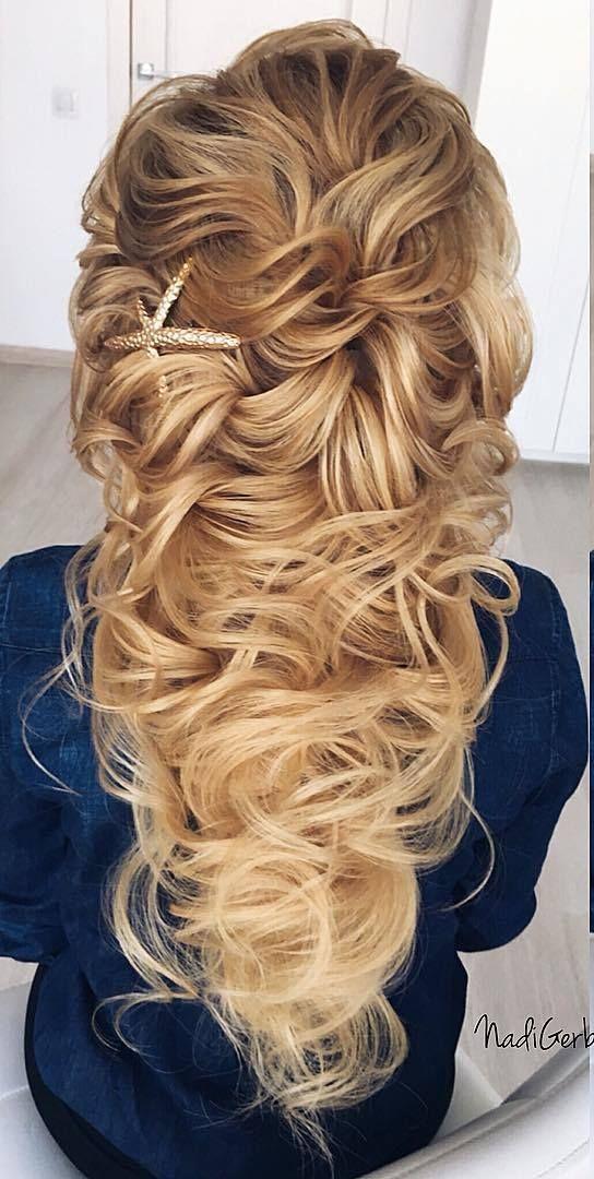 Long Wedding Hairstyles from Nadi Gerber | Deer Pearl Flowers