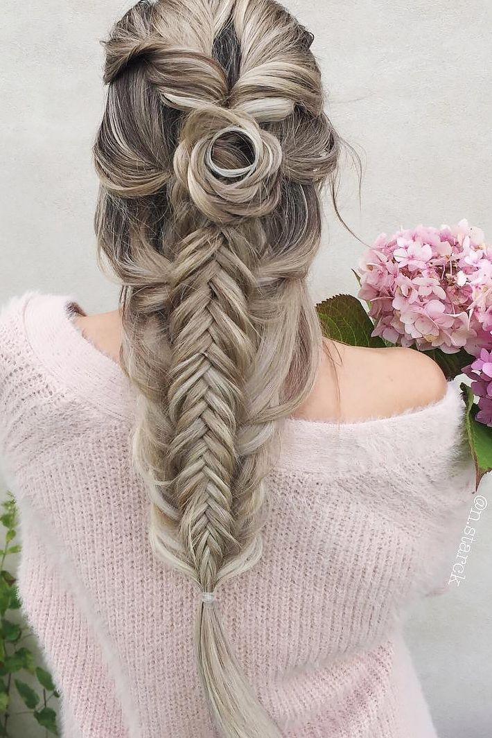 36 Boho Inspired Creative And Unique Wedding Hairstyles ❤️ creative unique w...