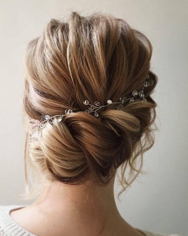 Lena Bogucharskaya Long Wedding Hairstyles  / www.deerpearlflow...
