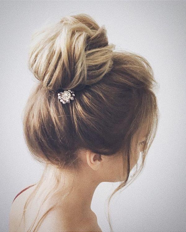 Lena Bogucharskaya Wedding Updo Hairstyles / www.deerpearlflow...