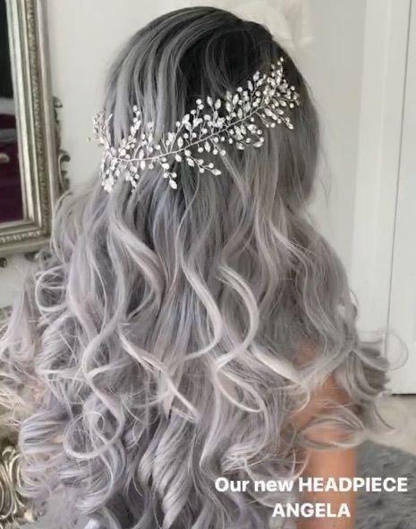 Featured Hairstyle:Ulyana Aster;www.ulyanaaster.com; Wedding hairstyle idea.