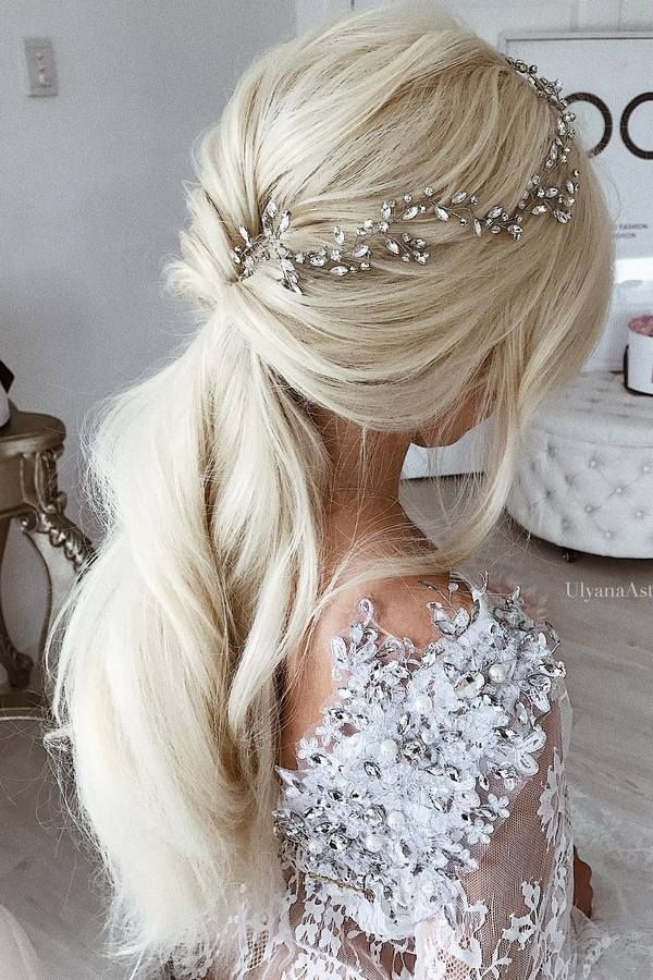 Ulyana Aster Long Wedding Hairstyles / www.deerpearlflow...