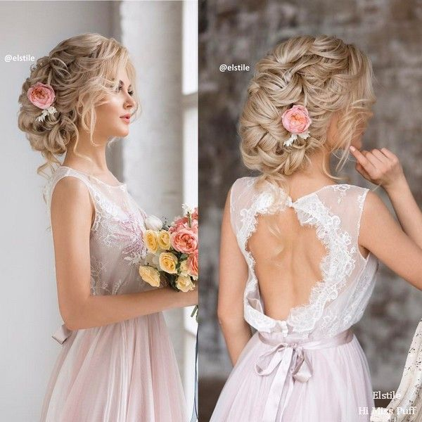 100 Wow-Worthy Long Wedding Hairstyles from Elstile | Hi Miss Puff - Part 30