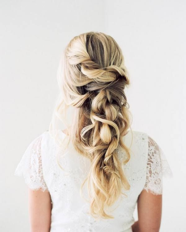110 Wedding Hairstyles for Long Hair from Hair and Makeup by Steph | Hi Miss Puf...