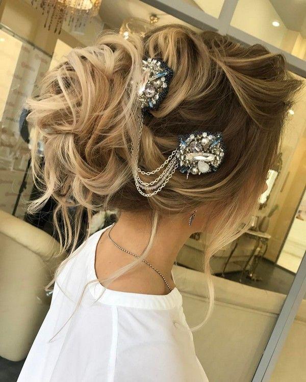 Elstiles Long Wedding Updo Hairstyles / www.deerpearlflow...