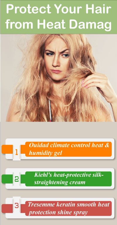 Looking for the best ways to protect your hair from heat damage? While styling y...
