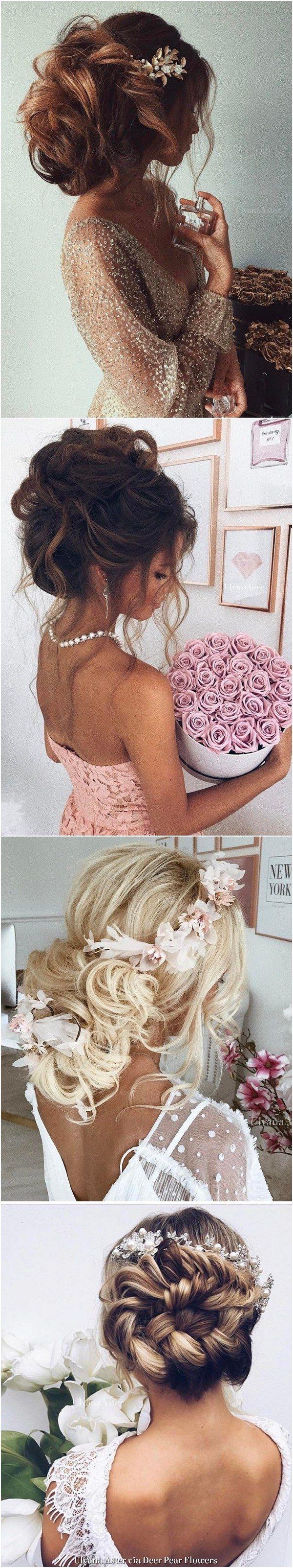 Ulyana Aster Long Wedding Hairstyles & Updos / www.deerpearlflow...