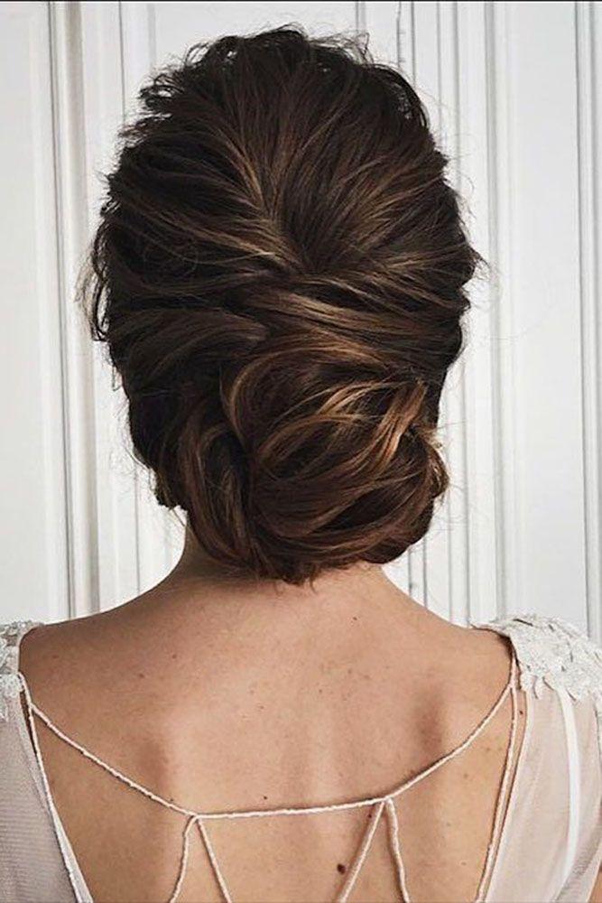 30 Eye-Catching Wedding Bun Hairstyles ❤ Bun hairstyles are the most popular w...