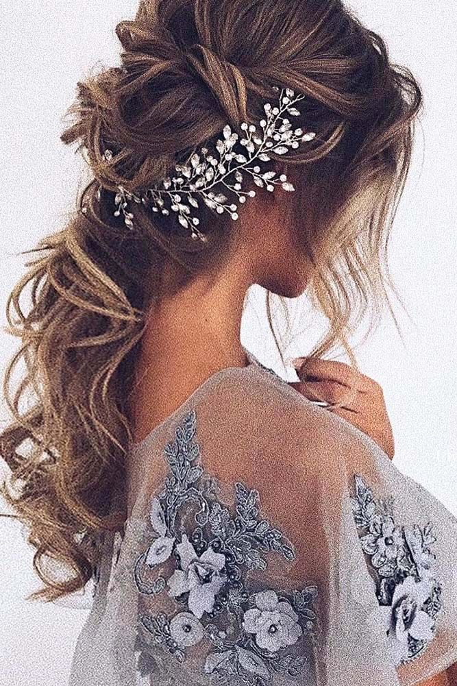 30 Wedding Hairstyles For Long Hair From Ulyana Aster ❤ Are you looking for go...