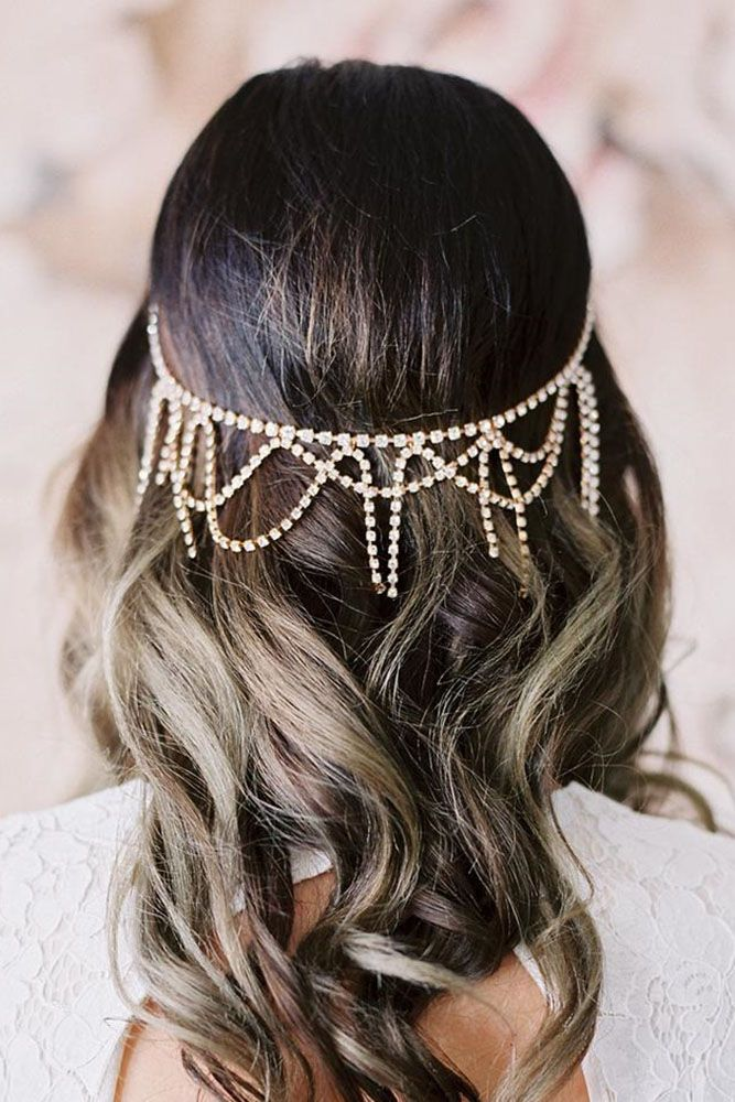 30 Cute And Easy Wedding Hairstyles ❤ We propose our collection of easy weddin...