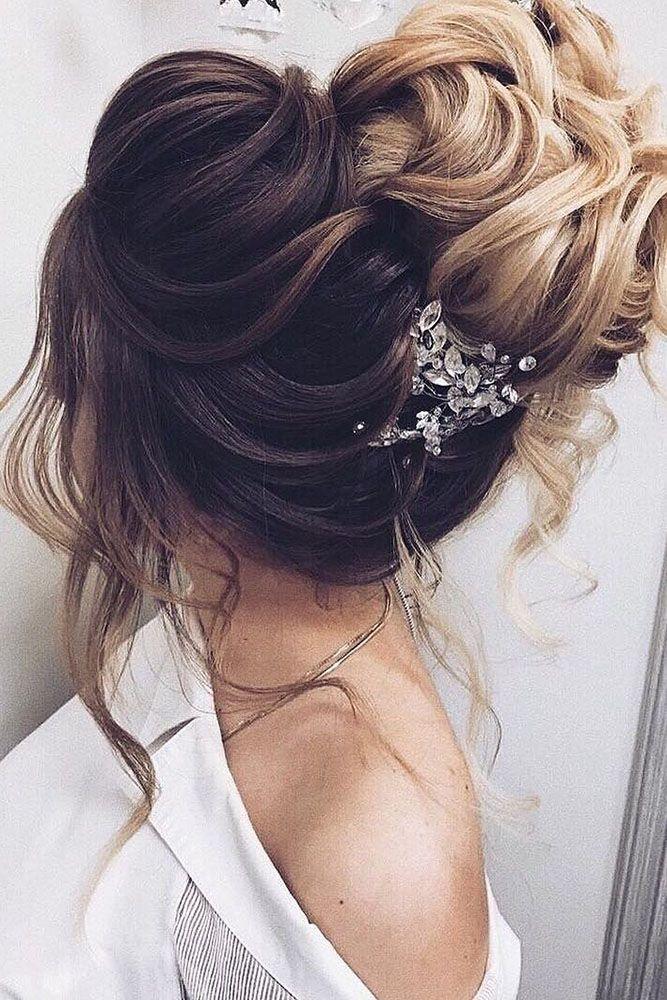 30 Elegant Wedding Hairstyles For Stylish Brides ❤ elegant wedding hairstyles ...