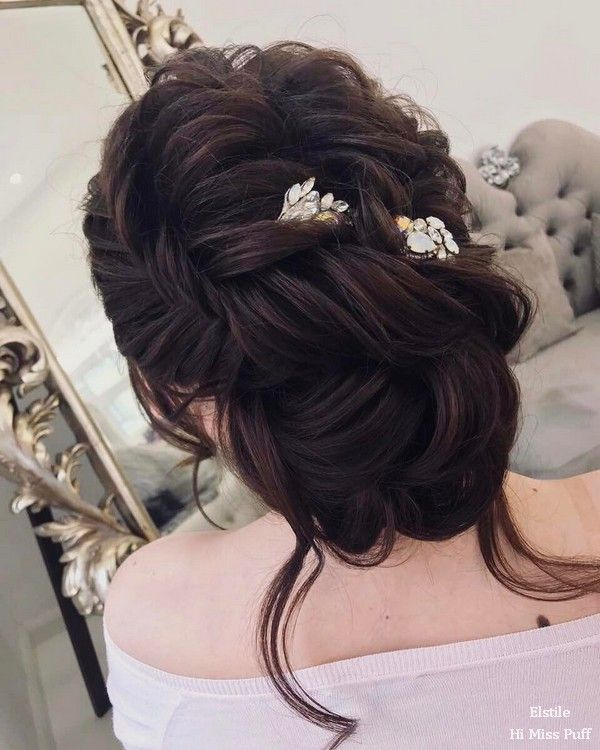 100 Wow-Worthy Long Wedding Hairstyles from Elstile | Hi Miss Puff - Part 27