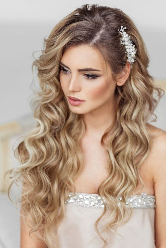Bridal Hairstyles Elstile Long Wedding Hairstyle Deer