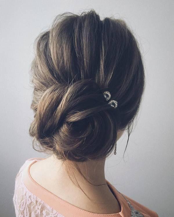 Lena Bogucharskaya Long Wedding Hairstyles  / www.deerpearlflow...
