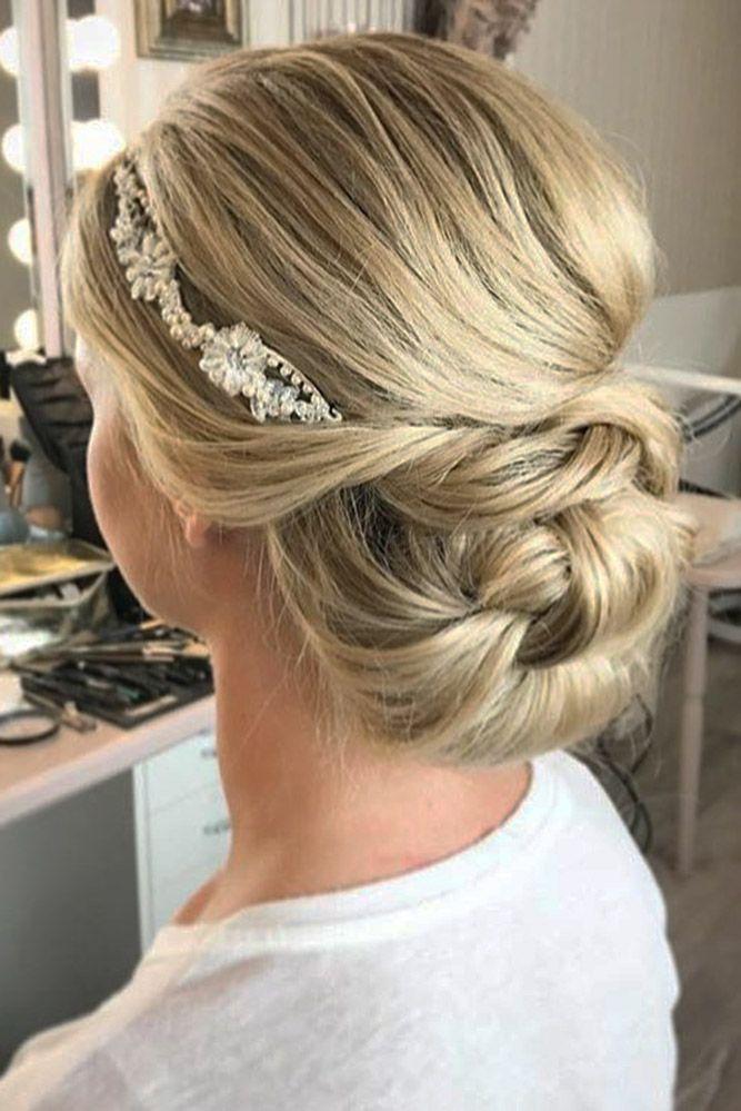 30 Eye-Catching Wedding Bun Hairstyles ❤ See more: www.weddingforwar... #weddi...