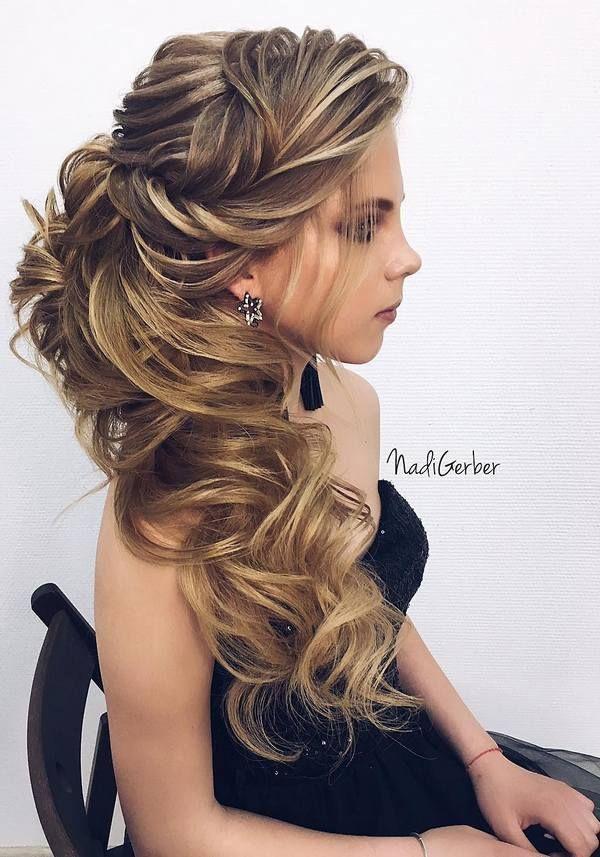 Nadi Gerber Long Wedding Hairstyles / www.deerpearlflow...