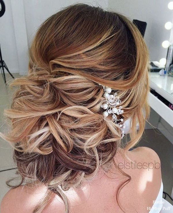 100 Wow-Worthy Long Wedding Hairstyles from Elstile | Hi Miss Puff - Part 26