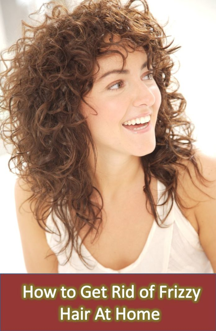 how to get rid of frizzy hair curly