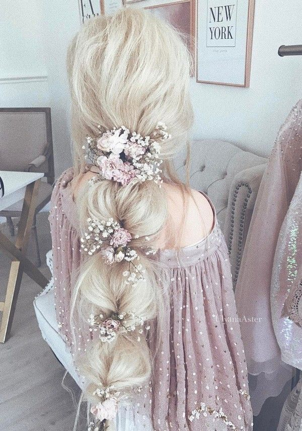 Ulyana Aster Wedding Hairstyles / www.deerpearlflow...