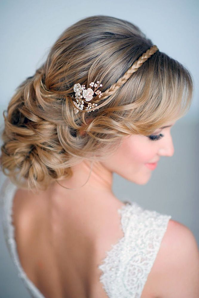 30 Graceful Wedding Updos With Braids ❤ wedding updos with braids low bride ha...