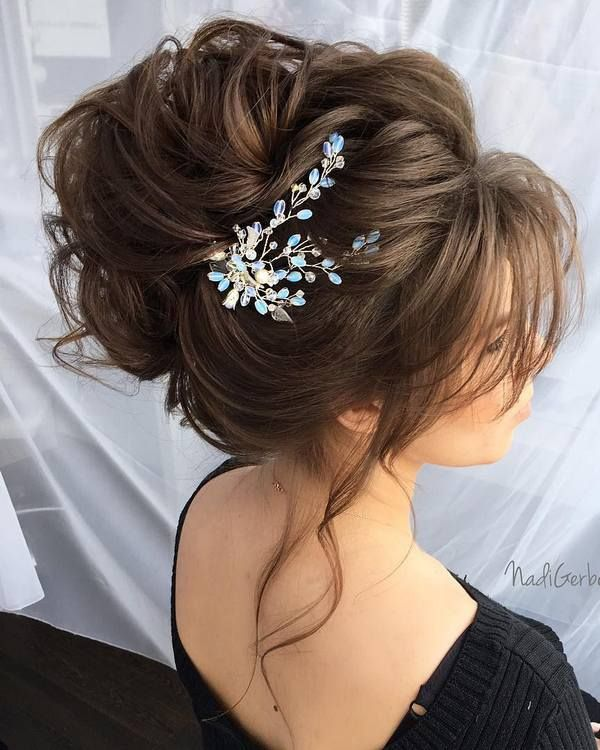 40 Stuning Long Curly Wedding Hairstyles from Nadi Gerber | Deer Pearl Flowers -...