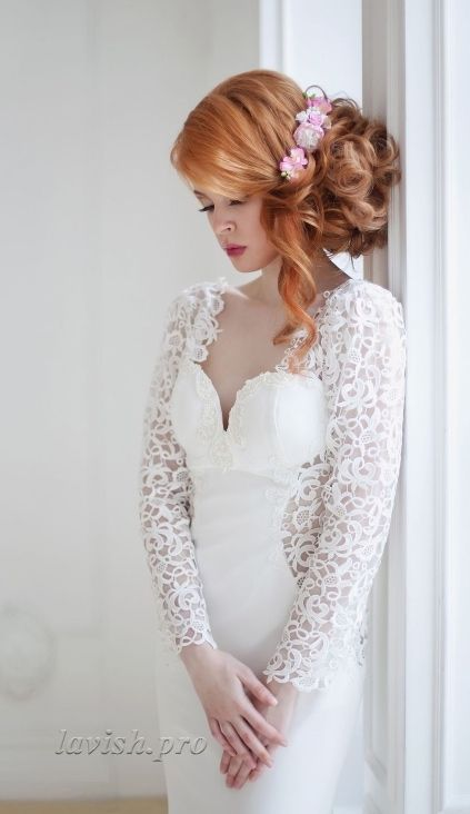 Featured Wedding Hairstyle: lavish.pro; www.lavish.pro; Wedding hairstyle idea...