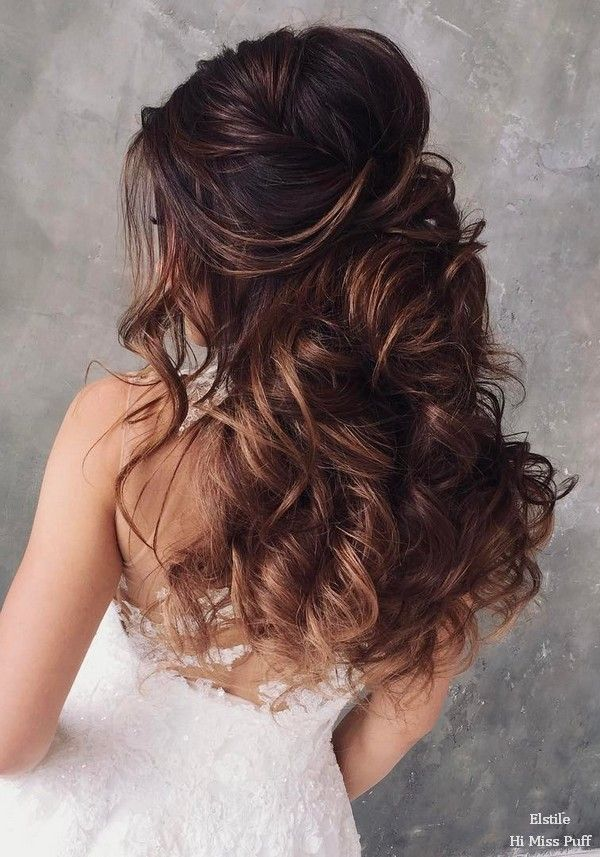 100 Wow-Worthy Long Wedding Hairstyles from Elstile   Hi Miss Puff - Part 26