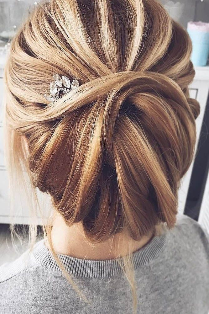 30 Enchanting Wedding Updos ❤ Have a mind about what kind of wedding hairstyle...