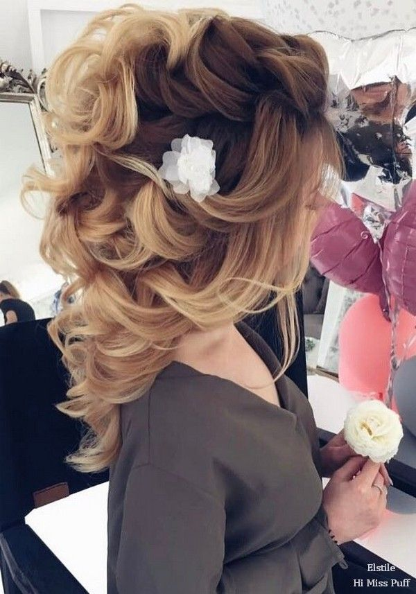 100 Wow-Worthy Long Wedding Hairstyles from Elstile   Hi Miss Puff - Part 25