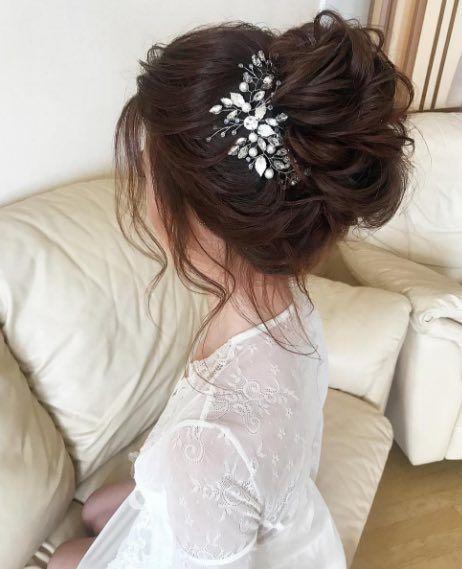 Featured Hairstyle:Hair by Zolotaya;www.instagram.com/hair_by_zolotaya; Wedd...