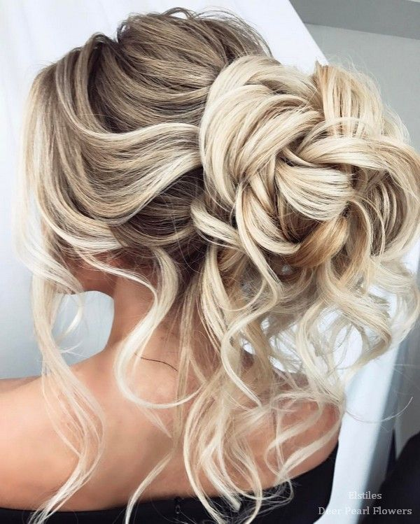 Elstile Wedding Hairstyles for Long Hair / www.deerpearlflow...