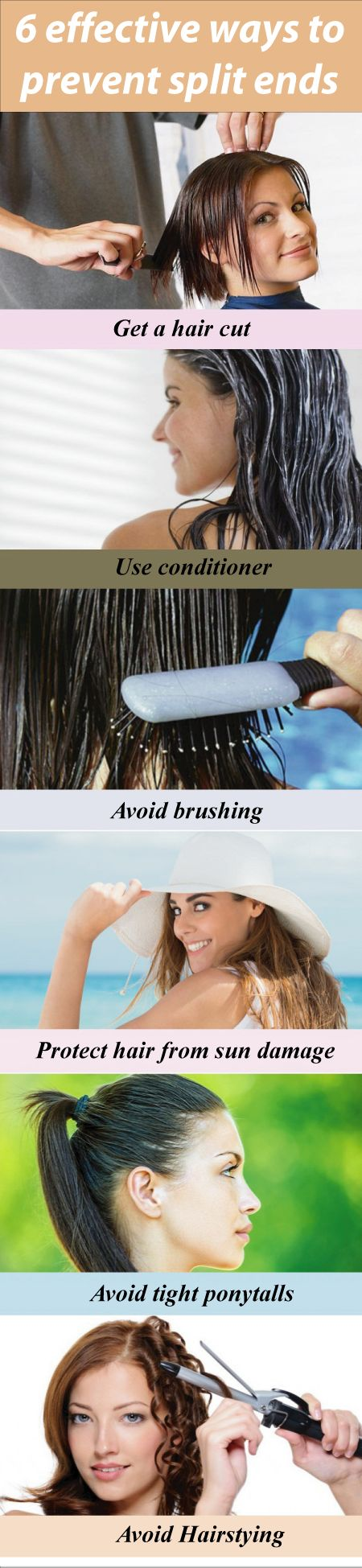 Annoyed with split end? Here are 10 effective ways to prevent hair splits.  Now ...
