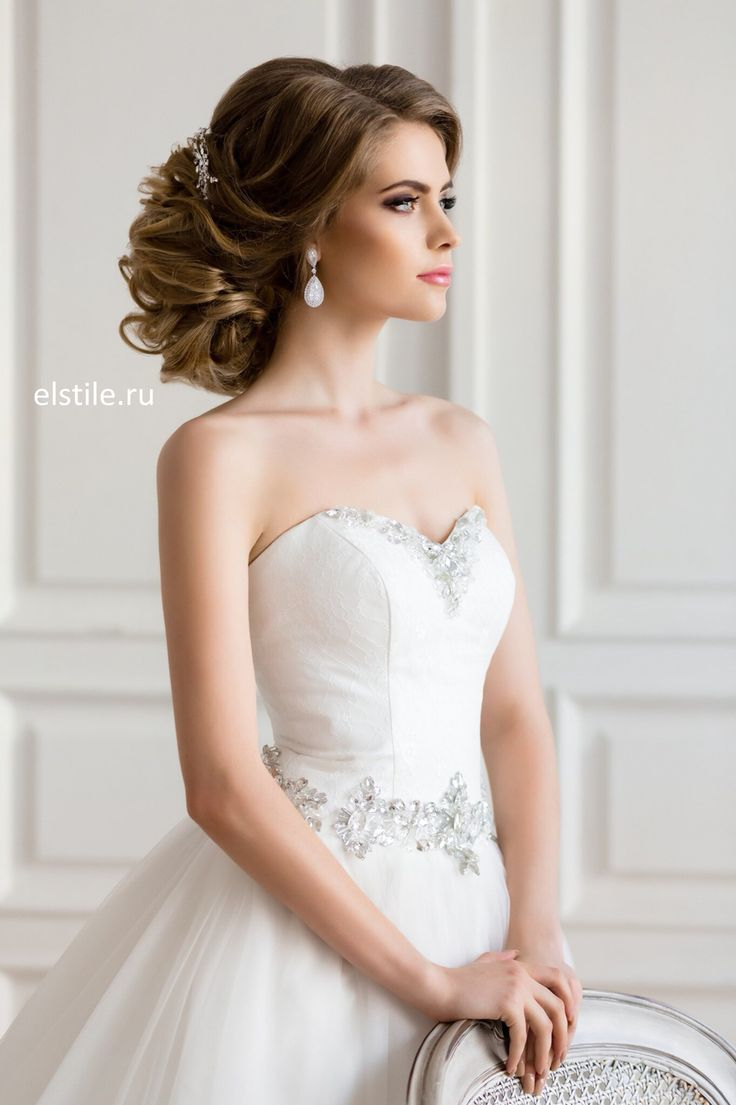 Lovely bridal look          Make up, hairstyles                                 ...