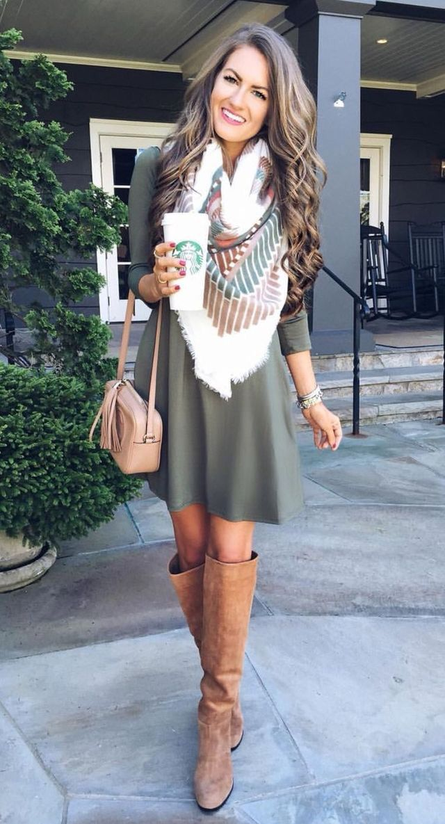 Cute look for fall! Like the cooler tone of this shade of olive. www.stitchfix.c...