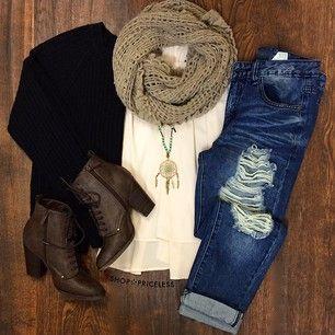 Whisper Sweater Top - Black #fashion #SweaterWeather #Fall #cute #ootd #ShopPric...