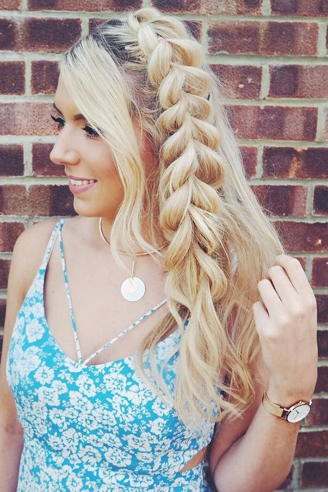 27 Chic And Easy Wedding Guest Hairstyles ❤ wedding guest hairstyles side brai...