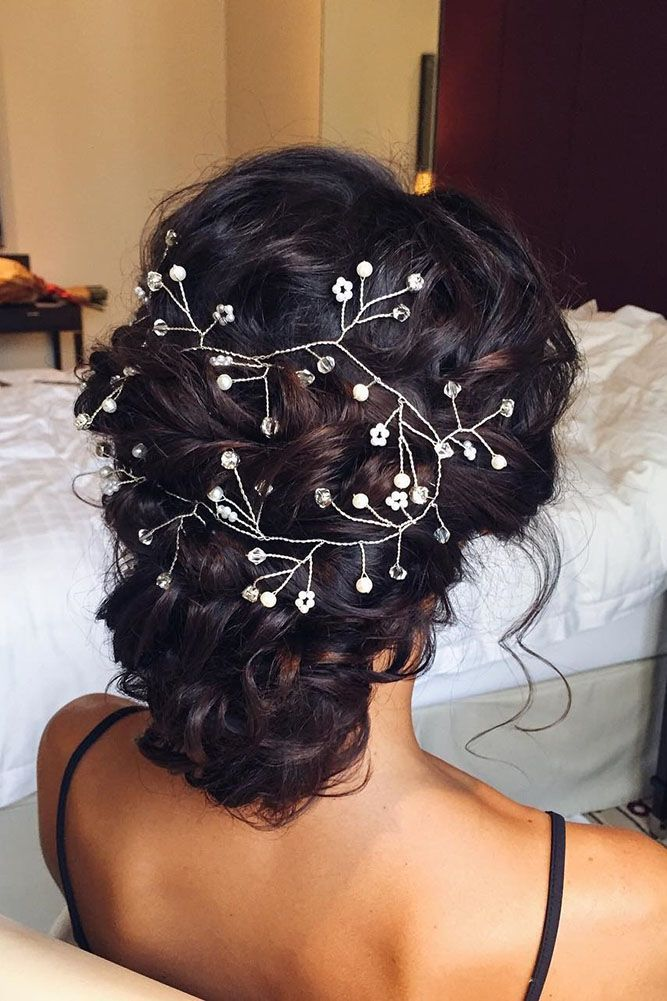 27 Chic And Easy Wedding Guest Hairstyles ❤ wedding guest hairstyles updo with...