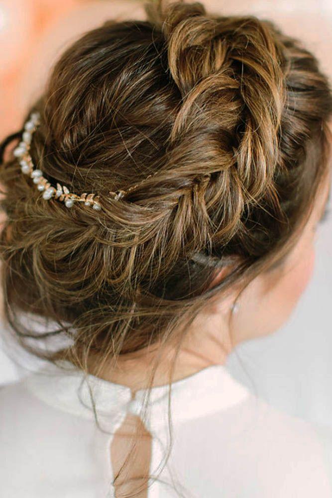 30 Bright Ideas For Fall Wedding Hairstyles ❤ fall wedding hairstyles braided ...