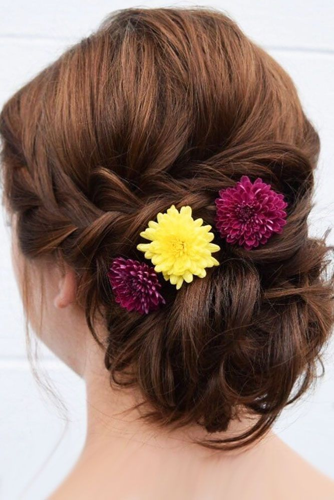 30 Bright Ideas For Fall Wedding Hairstyles ❤ fall wedding hairstyles bright f...