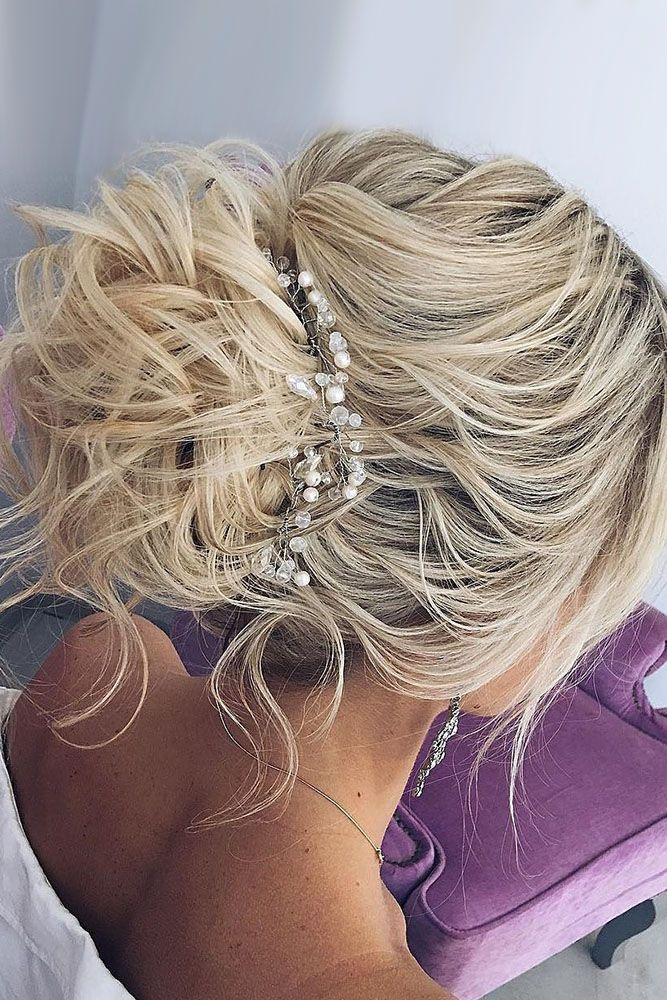 30 Bright Ideas For Fall Wedding Hairstyles ❤ fall wedding hairstyles messy up...