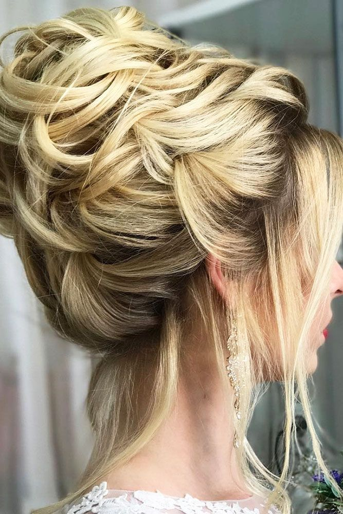 Bridal Hairstyles : 30 Enchanting Wedding Updos ❤ wedding updos ...