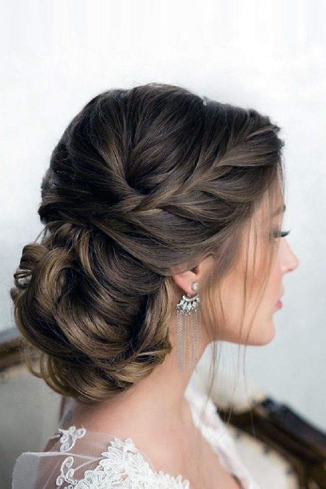 30 Graceful Wedding Updos With Braids ❤ wedding updos with braids low hairstyl...