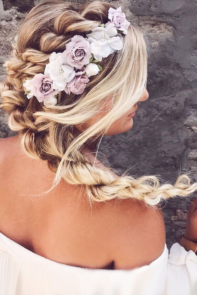 30 Ideas For Wedding Hairstyle Inspiration ❤ wedding hairstyle inspiration boh...
