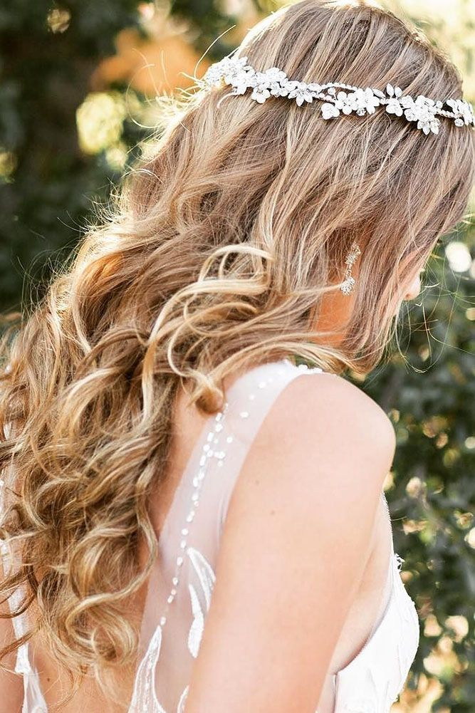 30 Ideas For Wedding Hairstyle Inspiration ❤ wedding hairstyle inspiration cur...