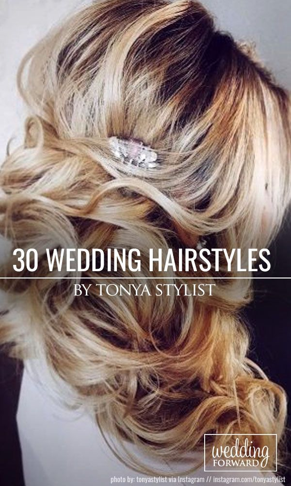 30 Inspiring Wedding Hairstyles By Tonya Stylist ❤ Looking for inspiration to ...
