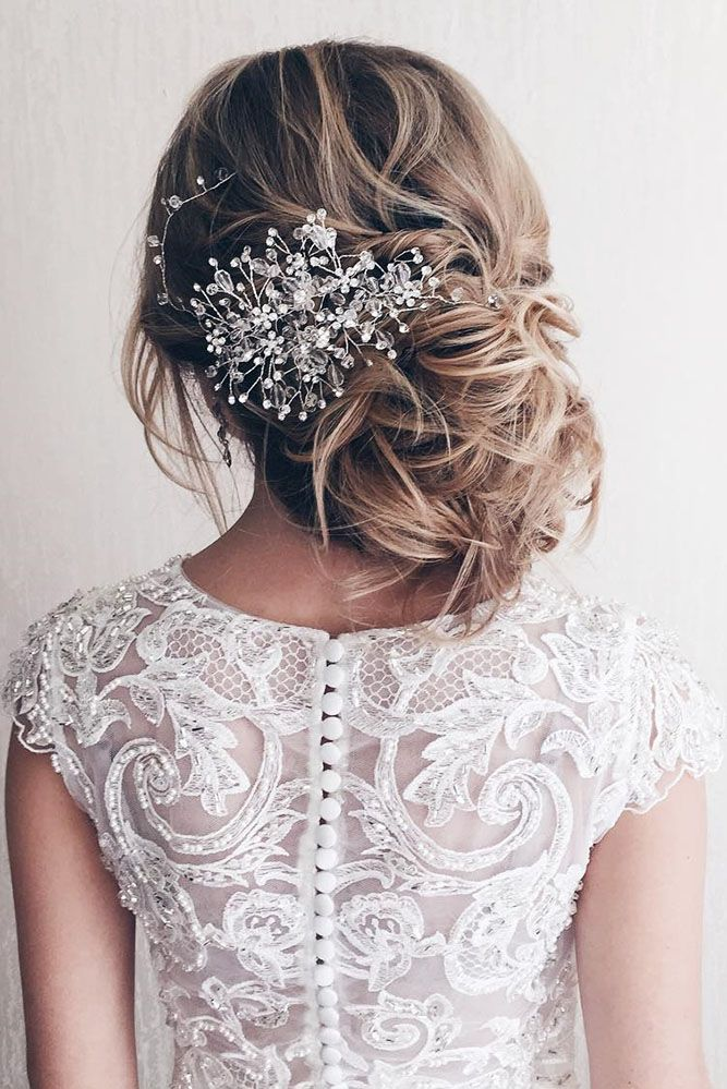 30 Modern Wedding Hairdos To Be In Trend ❤ We know it is a challenge to choose...