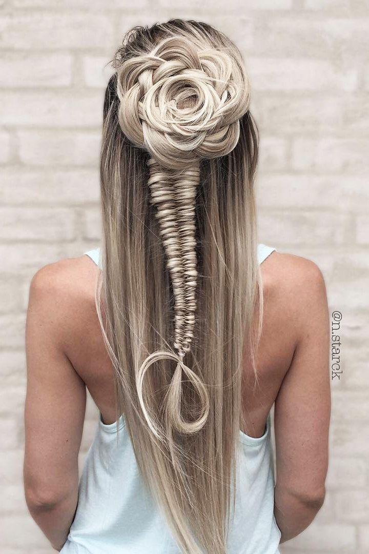30 Overwhelming Boho Wedding Hairstyles ❤️ boho wedding hairstyles flowersha...